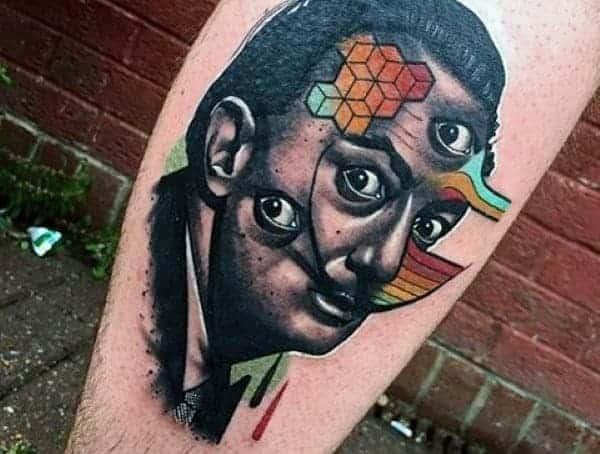 Abstraktní tetovací styly