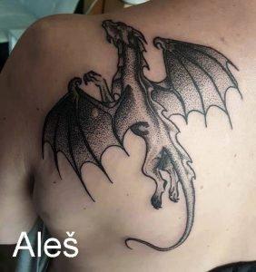 Aleš tattoo