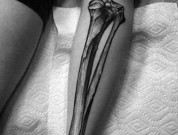 Anatomické tetovací styly