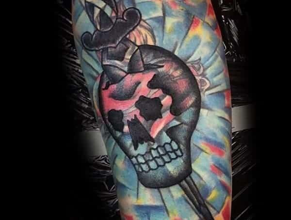 Blast over tetovací styly