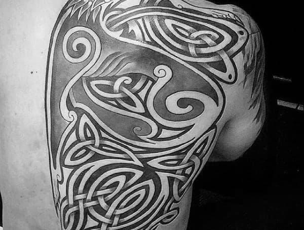 Keltské tetovací styly