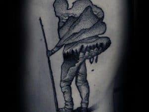 Tetovací styl - Dotwork