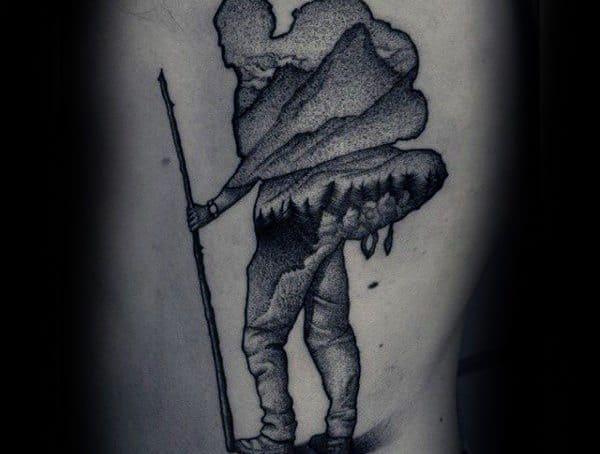 Dotwork tetovací styly