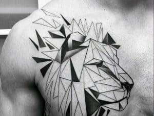 Geometrické tetovací styly