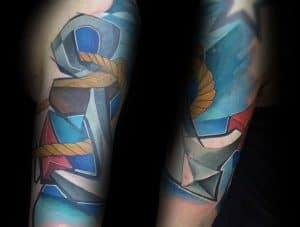 Styly tetování - Graffiti
