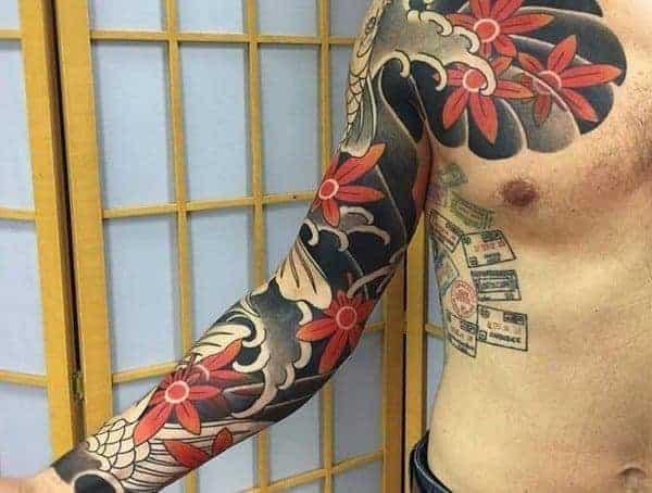 Japanese tetovací styly