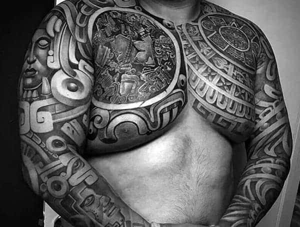 Mayské tetování