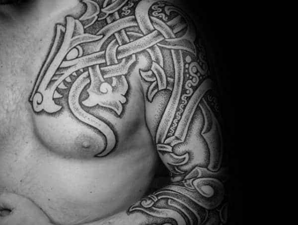 Severské tetování