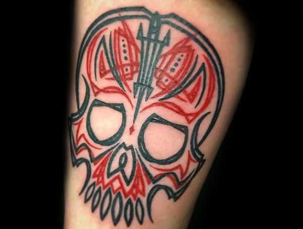 Pinstripe tetování