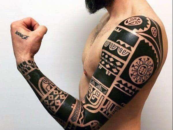 Kmenové / Polynéské / Maorské / Havajské tetování