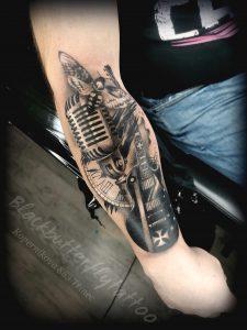Black Butterfly Tattoo - 10
