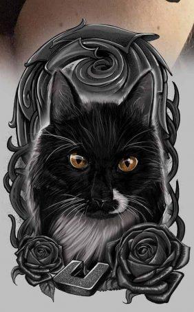 Realismus tetovací styly